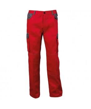 Работен панталон ASIMO red