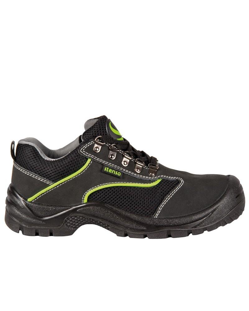 Работни обувки ниски EMERTON BLACK 01