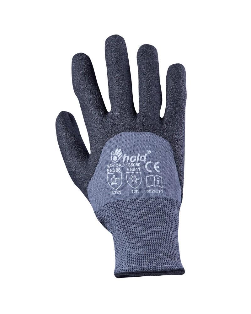 Студозащитни ръкавици топени в нитрил NAVIDAD