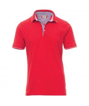 Тениска с яка PAYPER CAMBRIDGE RED