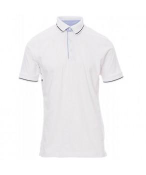 Тениска с яка PAYPER CAMBRIDGE WHITE