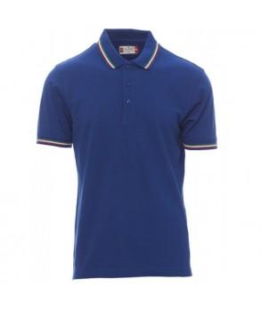 Тениска с яка PAYPER ITALIA ROYAL BLUE